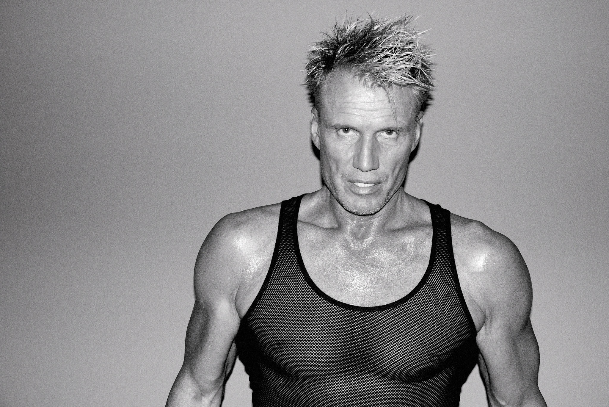 Dolph Lundgren Poses For Vman Reflects On Career