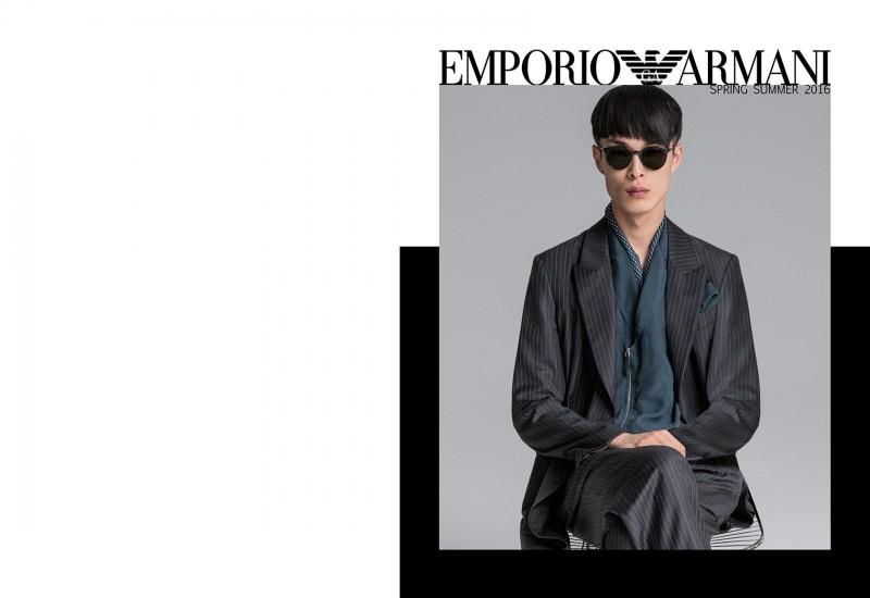 f78cd213236f4 Emporio Armani 2016 Spring Summer Men s Catalogue