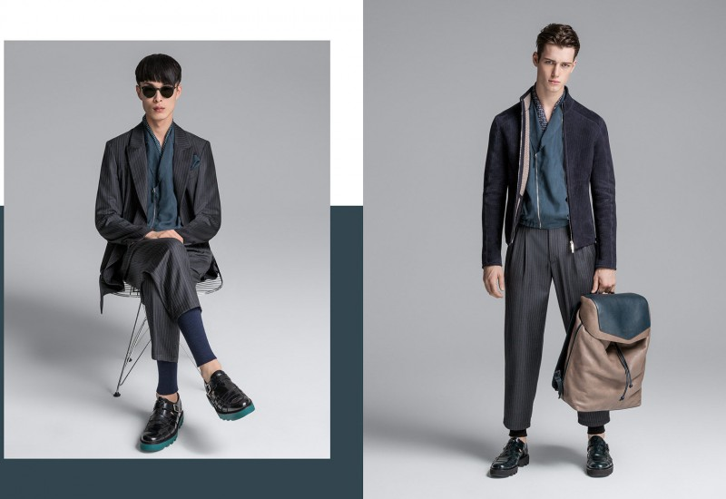 Emporio Armani Does Soft Tailoring for Spring