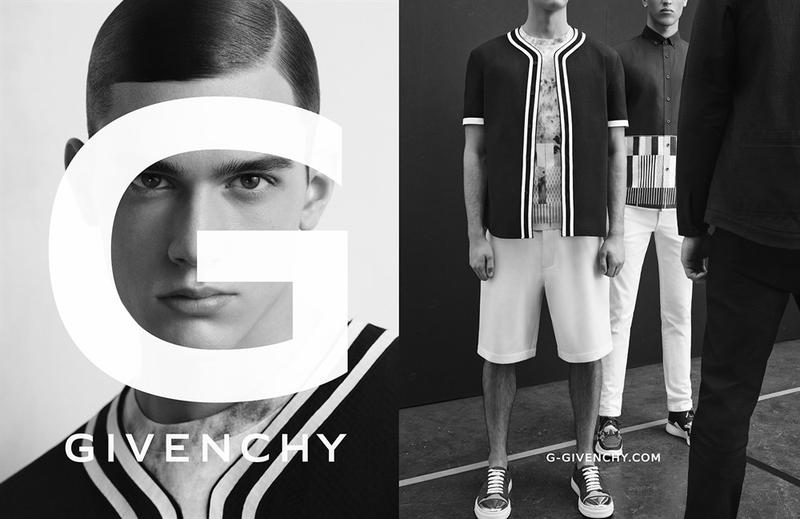 G Givenchy Shows Sporty Styles for Spring Campaign