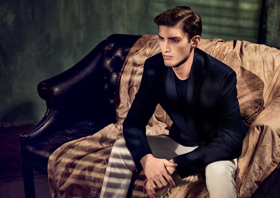 Gieves & Hawkes Unveils Spring Campaign