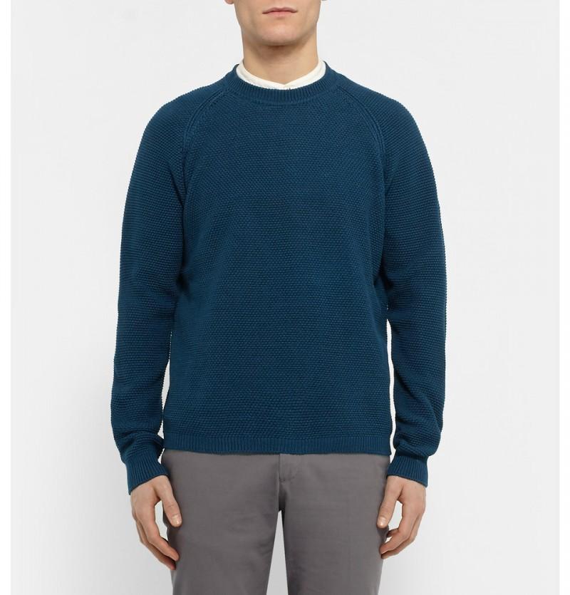 Gieves & Hawkes Mercerised Cotton Sweater