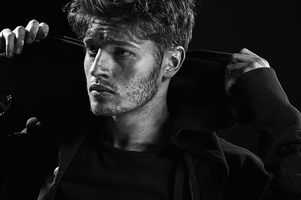 Gregg Sulkin Models Exclusive Greg Lauren x Barneys Collection