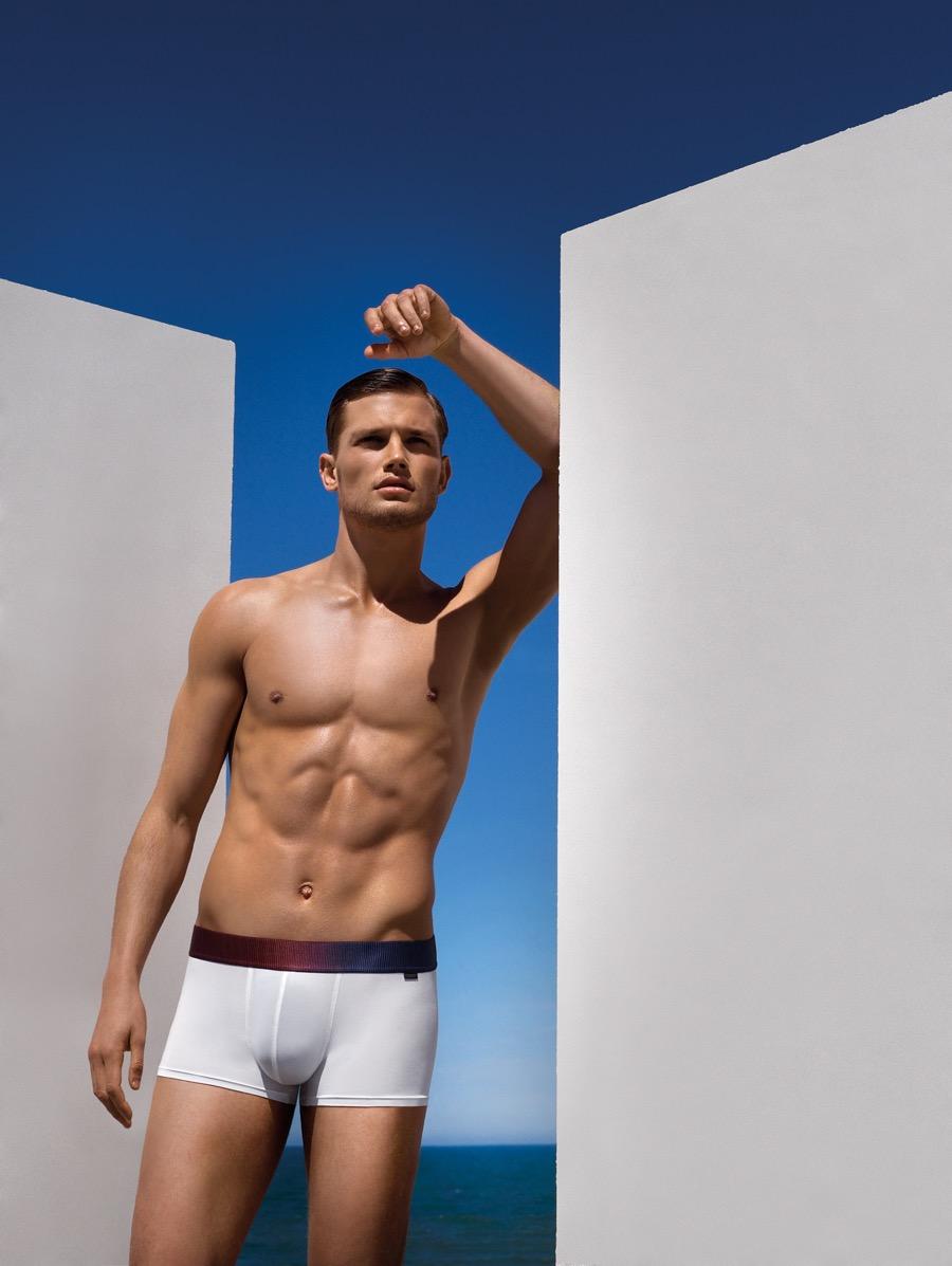 HOT Impetus Taps Stefan Pollmann for Underwear Campaign