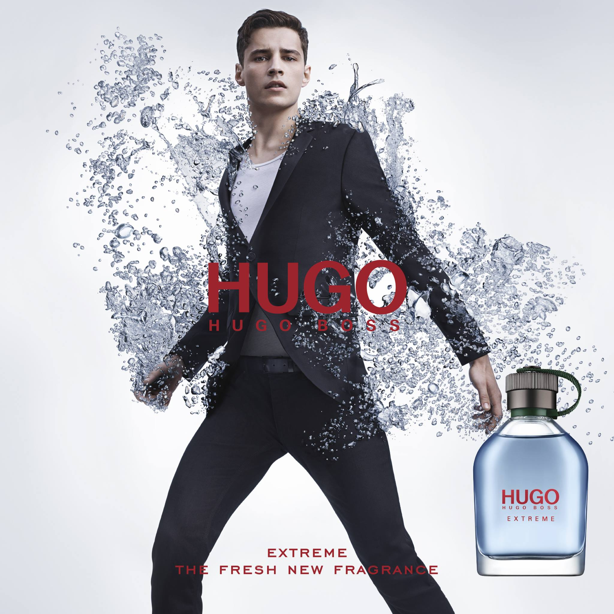 Adrien Sahores Fronts Hugo Hugo Boss Extreme Fragrance Campaign