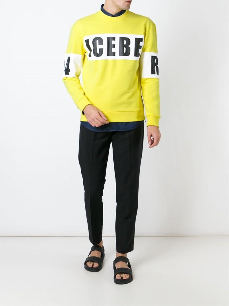 Iceberg-Logo-Print-Sweatshirt