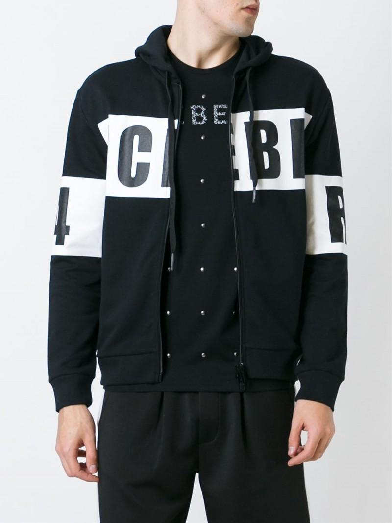 Iceberg-Logo-Print-Zipped-Sweatshirt