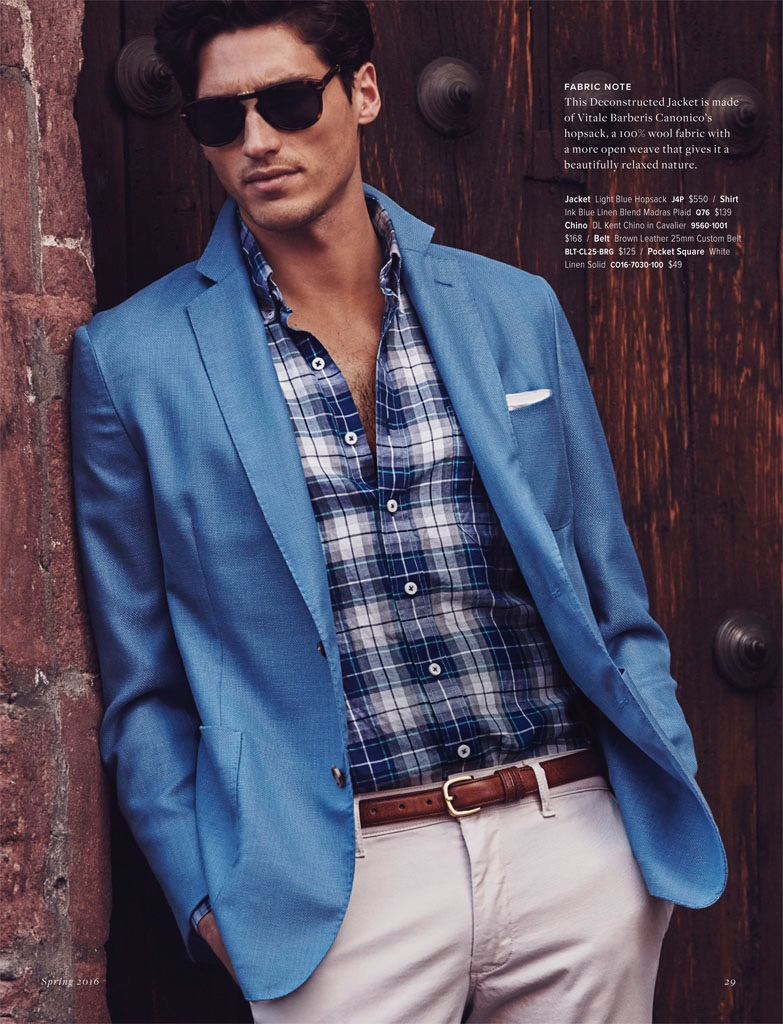 J.Hilburn Embraces Tailored Ease for Spring