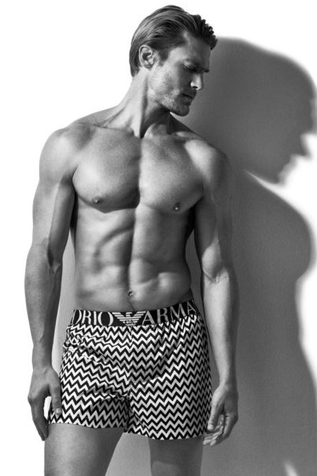 cheap for sale reasonably priced enjoy lowest price Jason Morgan for Emporio Armani 2016 Underwear Campaign ...