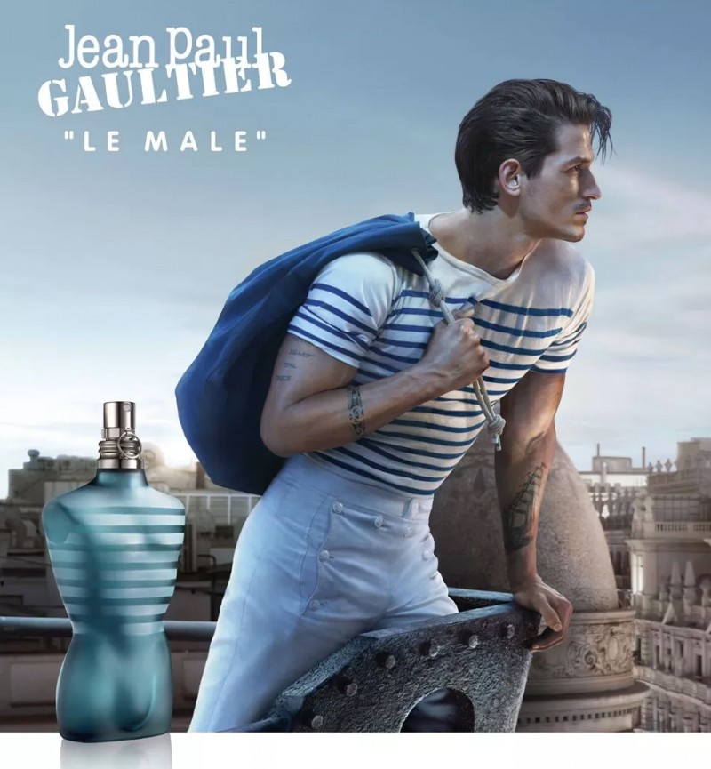Jean Paul Gaultier 2013 Le Male Fragrance Campaign starring model Jarrod Scott.