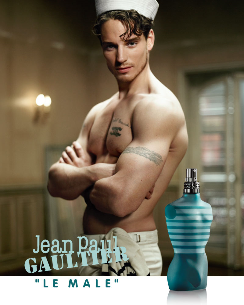Robert Perovich for Jean Paul Gaultier Le Male 2010 Fragrance Campaign