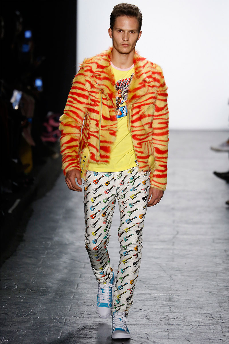 Jeremy Scott Mixes Prints & Colors for Campy Fall