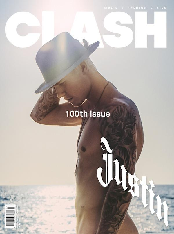 Justin Bieber Goes Nude for Clash Cover + Performs at 2016 BRIT Awards