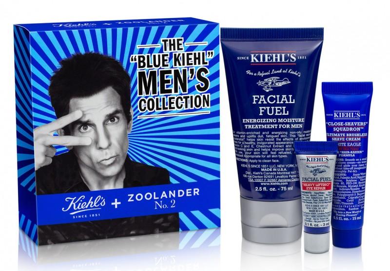 The Blue Kiehl's Men's Collection