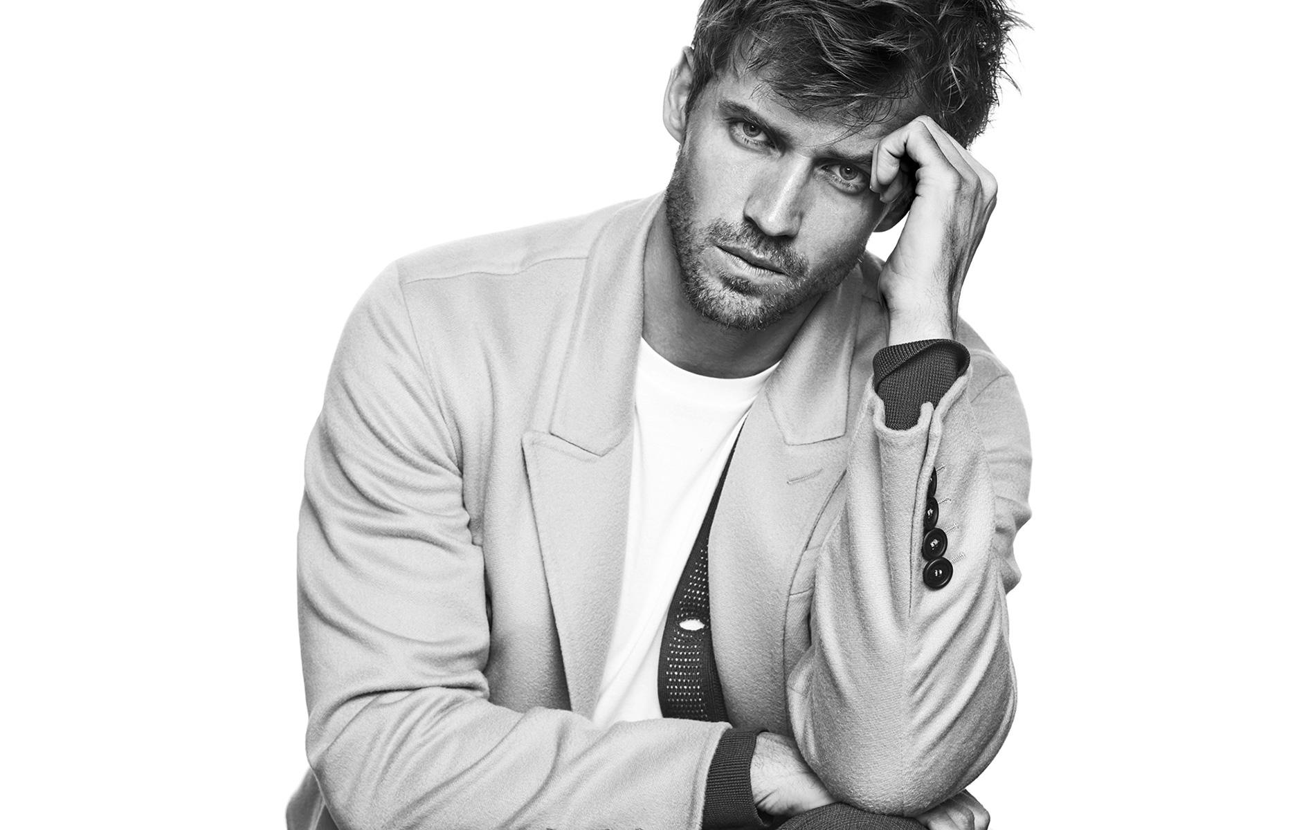 Andrew Cooper, Sam Webb + More Models Star in L'Optimum Shoot
