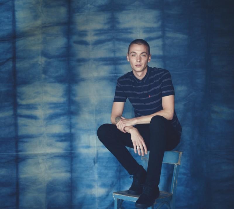 Yuri Pleskun in Levi's 519 Extreme Skinny Jeans.