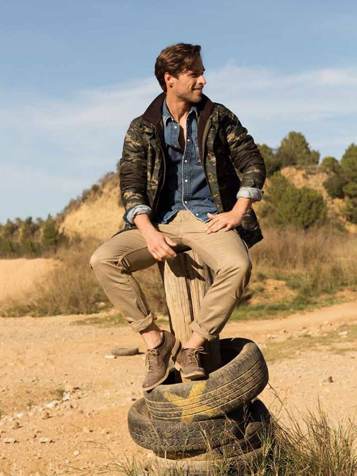 Men's Health Spain: Simone Bredariol Embraces Moto Style