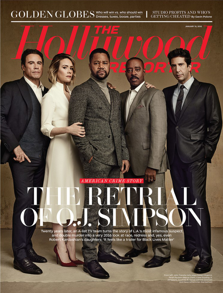 American Crime Story Cast Talks O.J. Simpson with The Hollywood Reporter