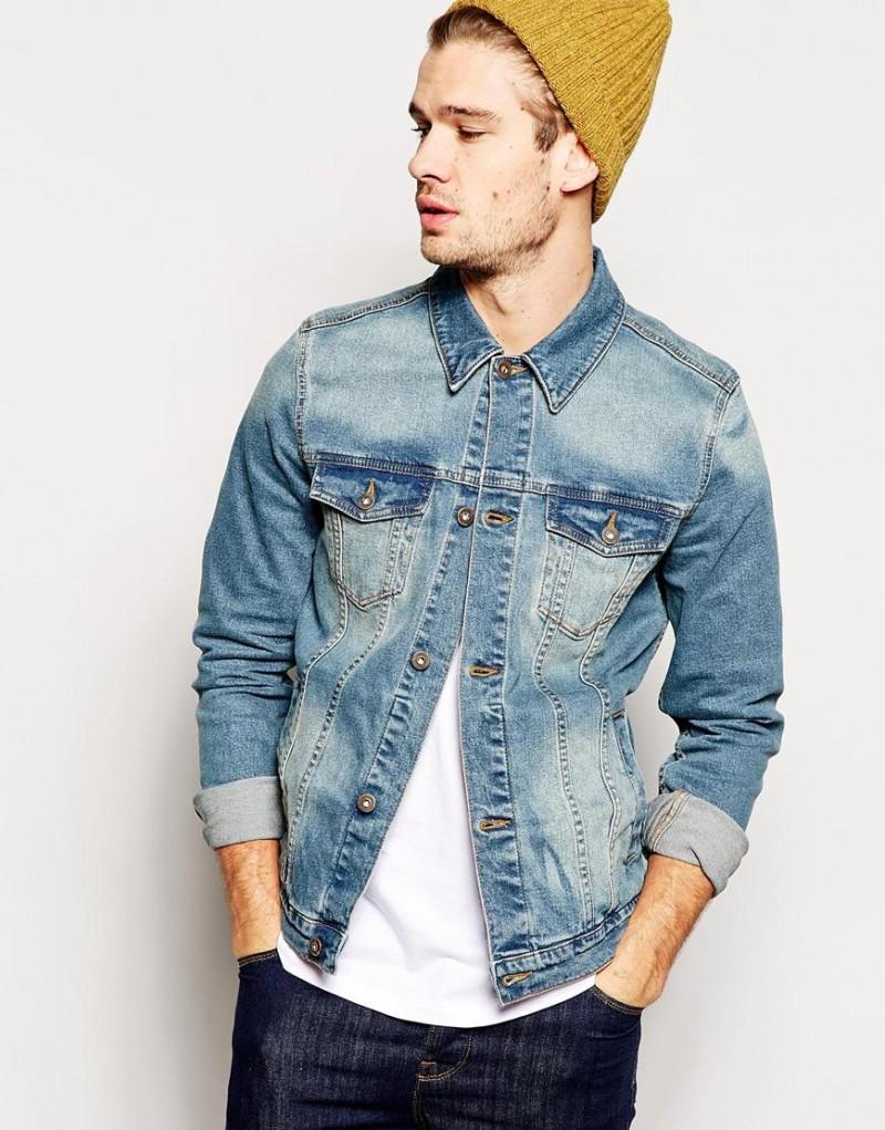 Men's Denim Jackets Revisited by ASOS