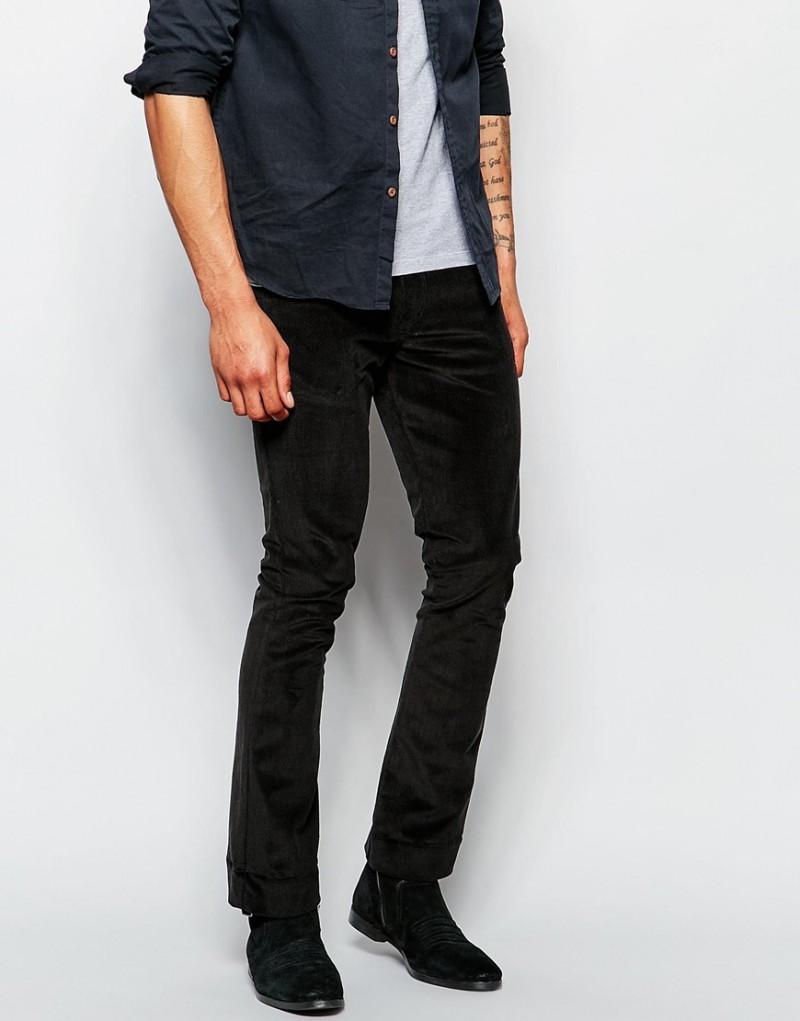 ASOS Men's Skinny Bootcut Cord Trousers