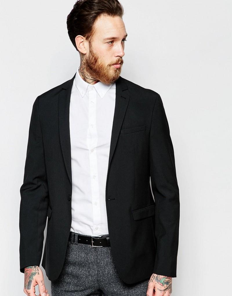 ASOS Men's Skinny Smart Blazer