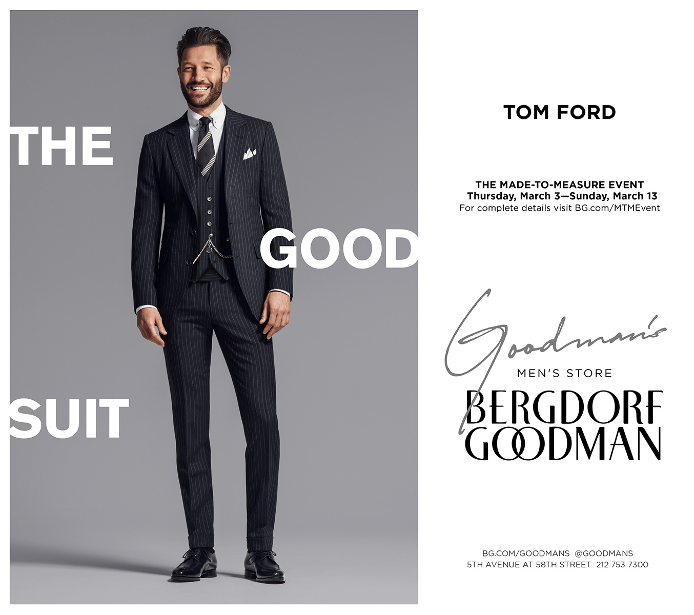 Bergdorf Goodman Highlights Designer Must-Haves from Tom Ford, Brioni + More