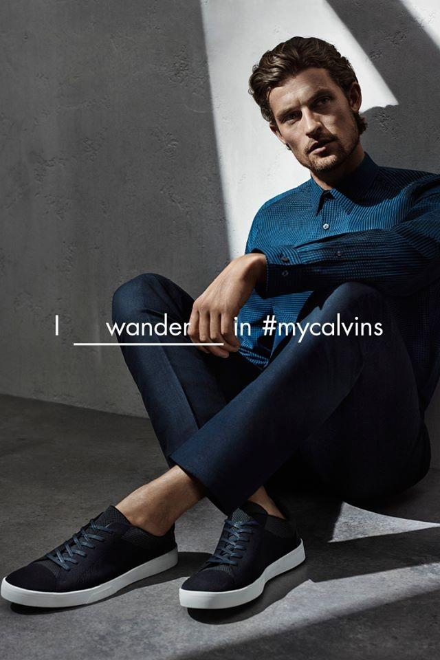 Wouter Peelen for Calvin Klein White Label spring-summer 2016 campaign.