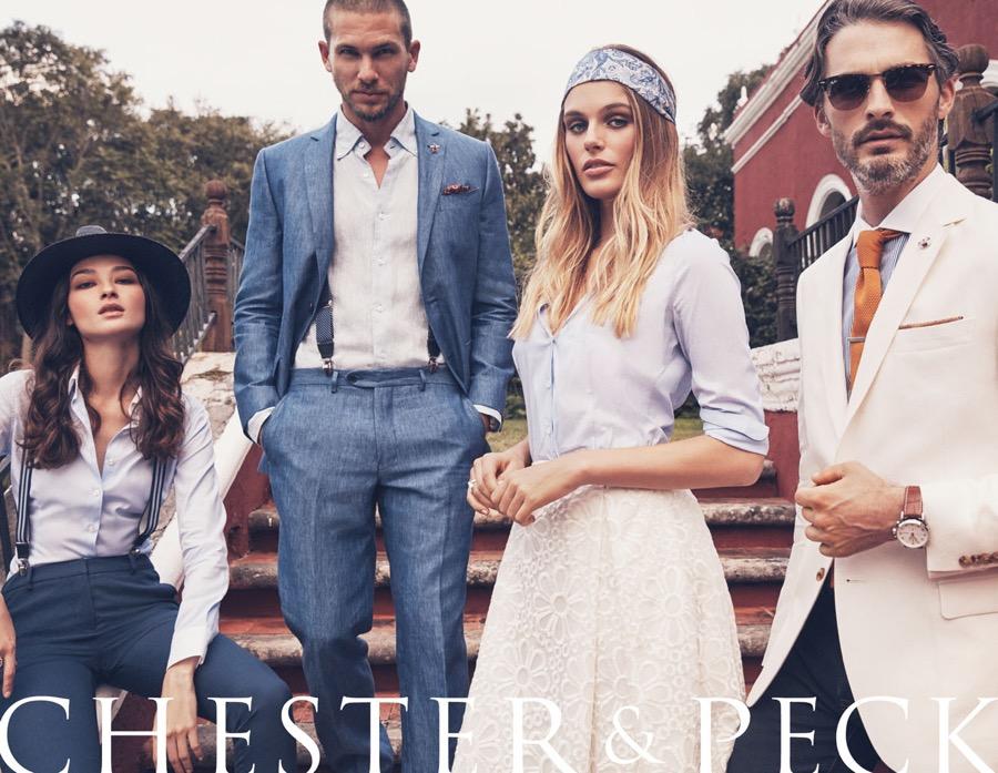 Chester & Peck Taps Adam Senn + Ben Hill for Spring Ads