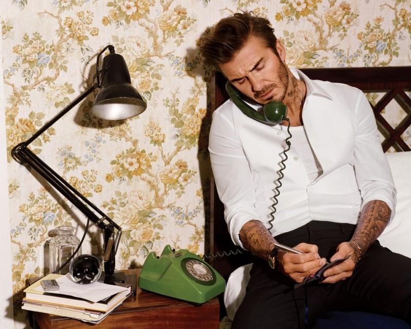 David Beckham Covers April S Gq Misses Soccer