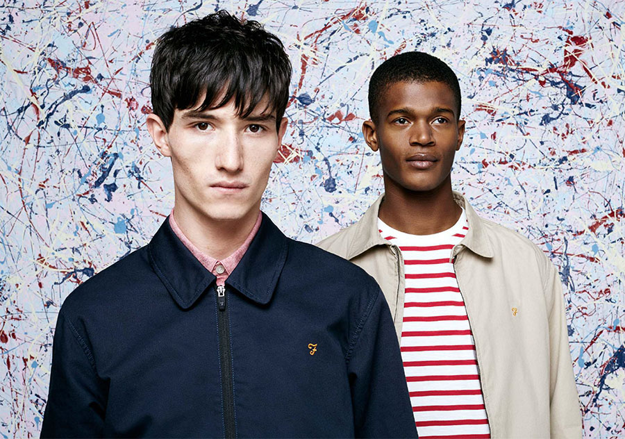 Farah Inspired by 90s Sportswear for Spring