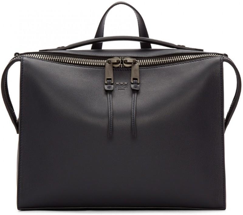 Fendi Leather Small Messenger Bag