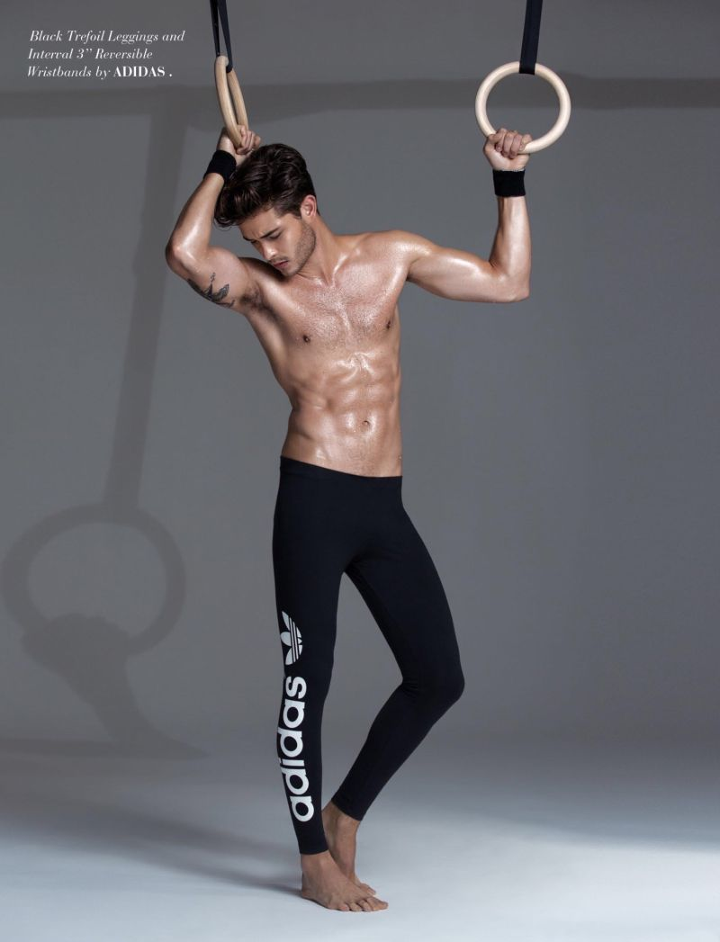Francisco Lachowski Rocks Sporty Styles for FV Cover Shoot