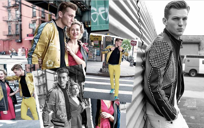 GQ Style Russia Hones in on Bomber Jackets & Channels 1950s
