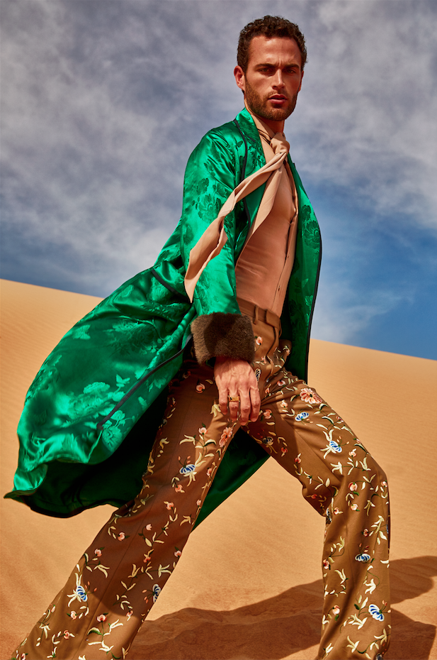 Prince of Persia: Christian Santamaria for GQ Style Russia