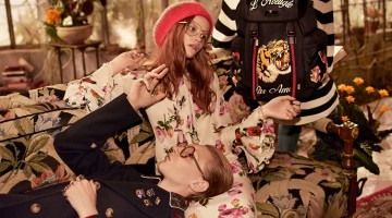 Gucci Subscribes to Decadent Leisure for Pre-Fall Campaign