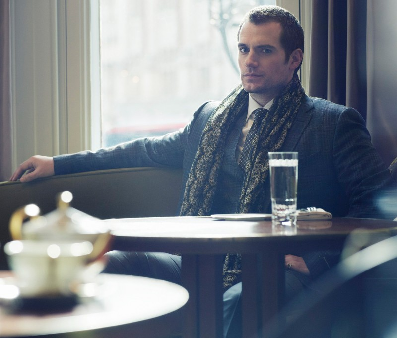 Henry Cavill charms in a sartorial number for his Sharp photo shoot.