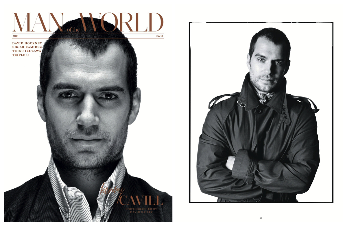 Henry Cavill Covers Man of the World, Talks Perks of Doing Hollywood Movies