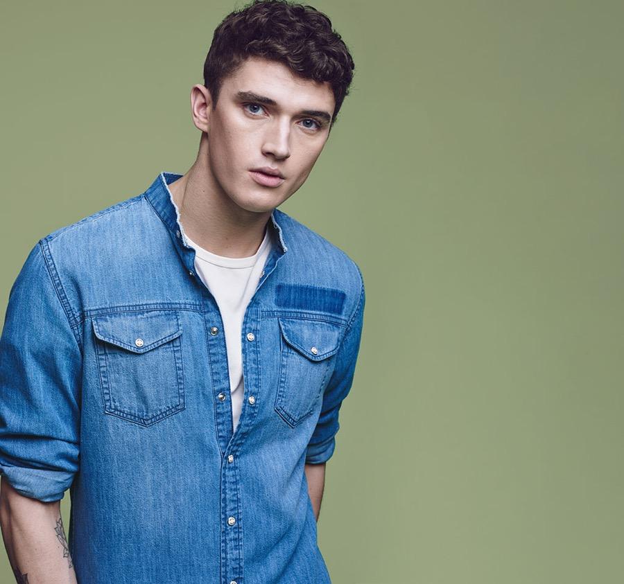 Mango Denim Guide: Matthew Holt Models Latest Fits