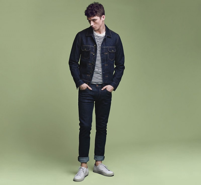 Matthew Holt wears Mango's Tim Slim-Fit Stretch jeans.