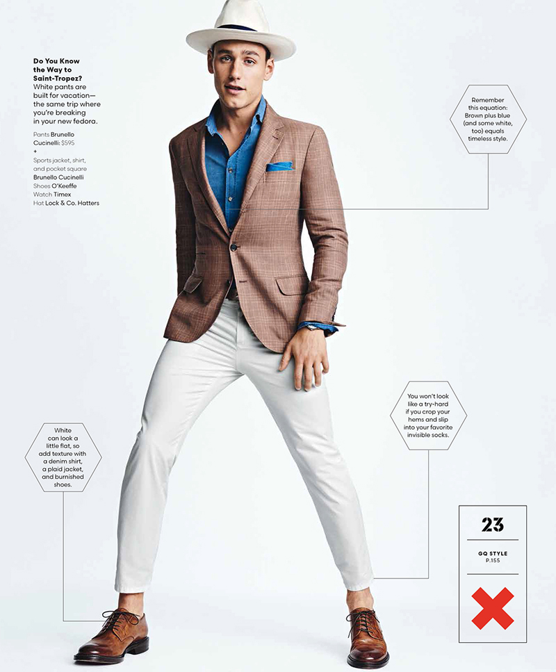 What To Wear Now Mariano Onta On Stars In American Gq Style Cover Shoot