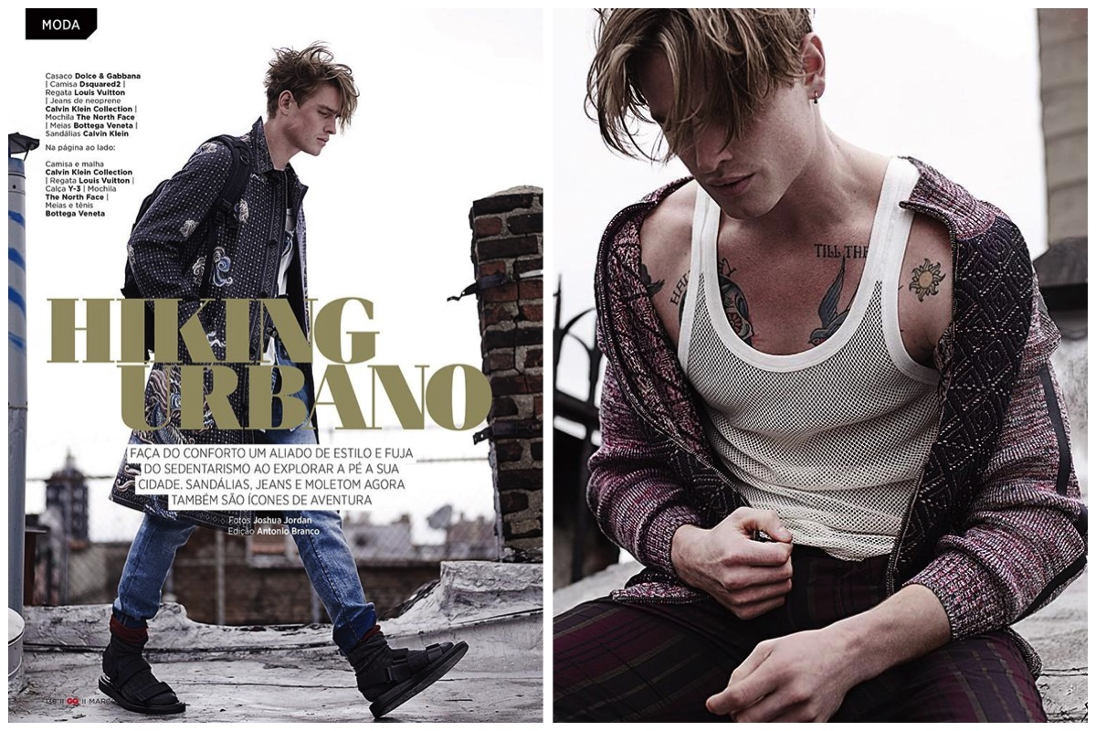 Hiking Urbano: GQ Brasil Makes a Case for the Eclectic Wardrobe