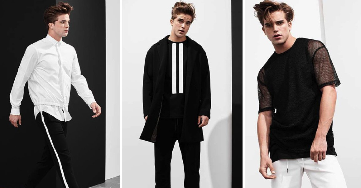 Black & White Style Edit: River Viiperi Hits the Studio with Simons