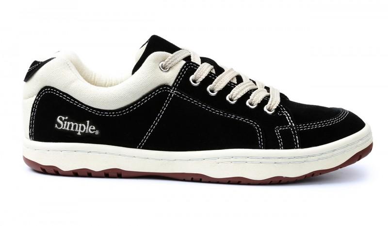 Simple OS Black Sneakers