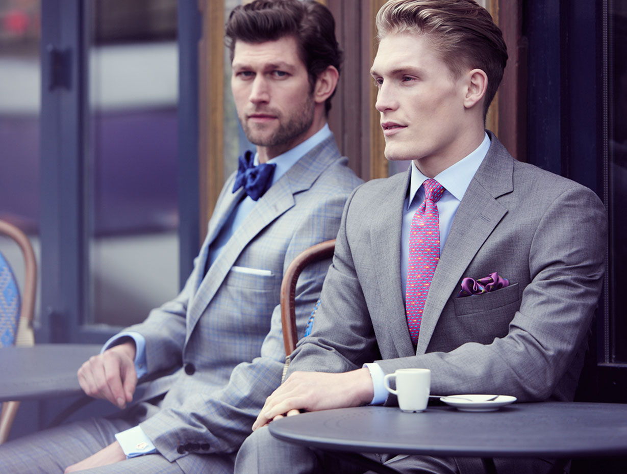 An Englishman in Paris: Thomas Pink Unveils Spring Campaign