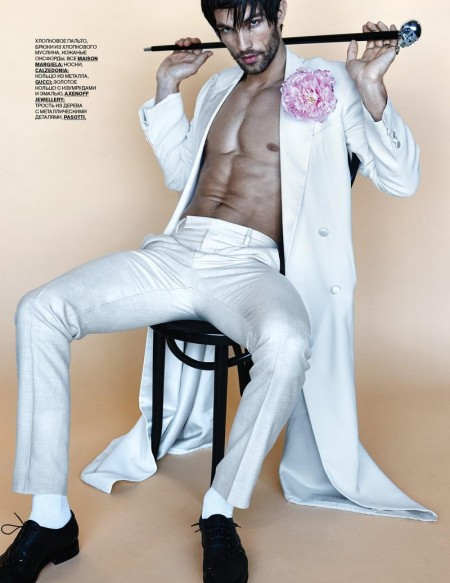 Tobias Sorensen Goes Dandy for GQ Style Russia Cover Shoot