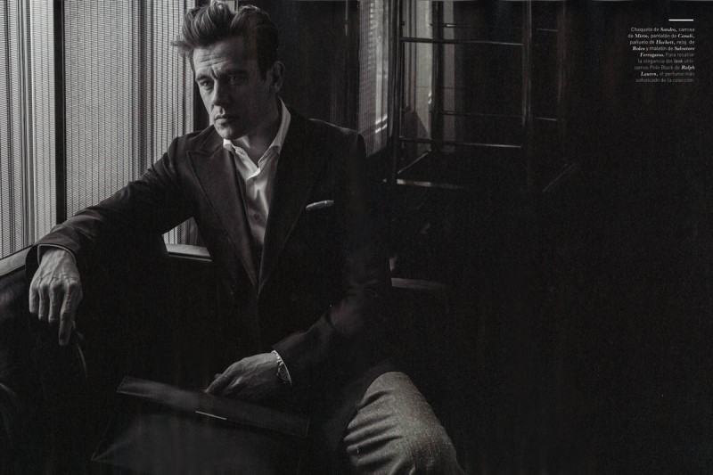 Werner Schreyer photographed by Vicente Merino for Forbes Spain.