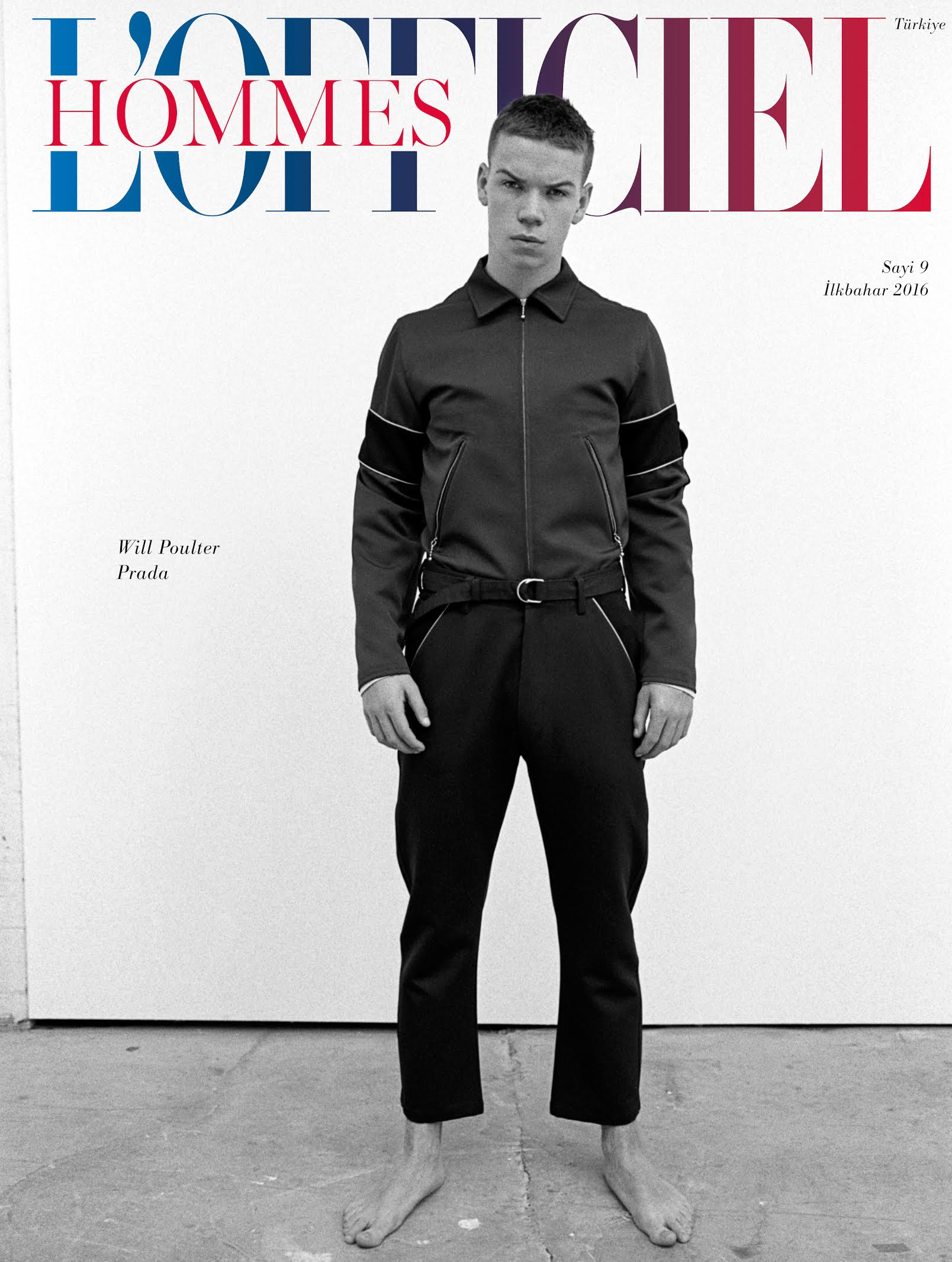 Will Poulter Goes Sporty for L'Officiel Hommes Turkey Cover Shoot
