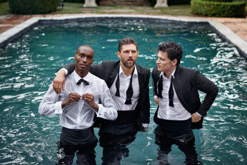 Wedding Season: BOSS Does Summer Tailoring & Tuxedos