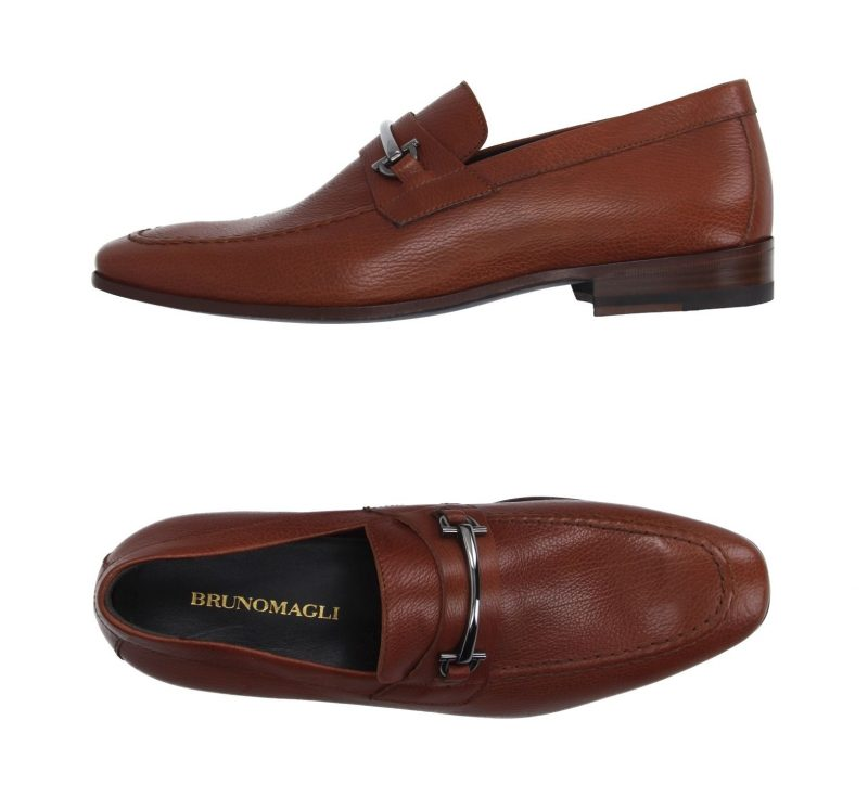 Bruno Magli Leather Mocca Moccasins