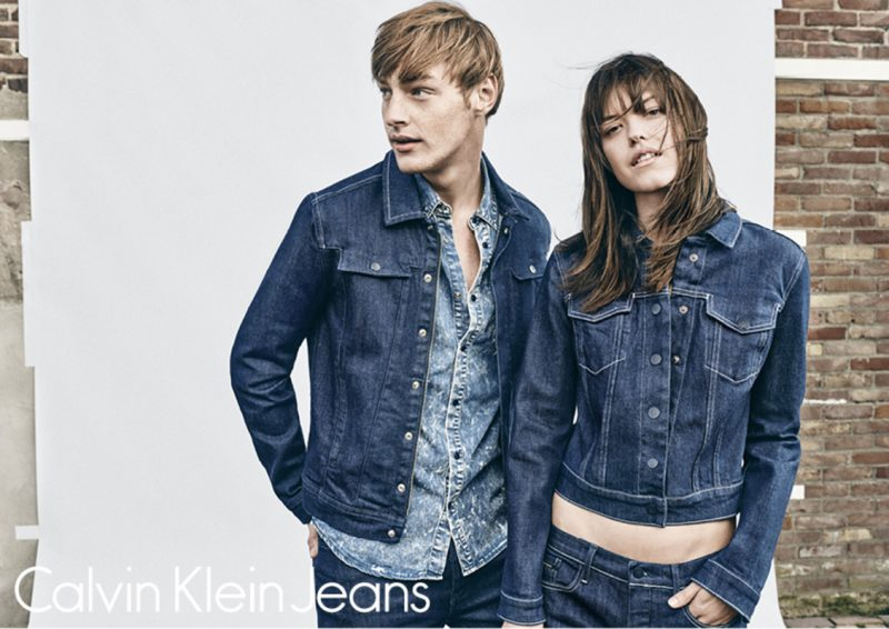 Roberto Sipos and Anna Nevala for Calvin Klein Jeans
